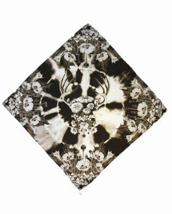 metamorphosis silk scarf